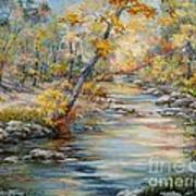 Cedar Creek Trail Art Print