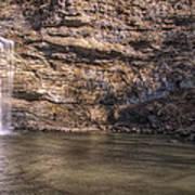 Cedar Falls At Petit Jean State Park - Arkansas Art Print