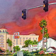 Cedar Fire San Diego 2003 Art Print