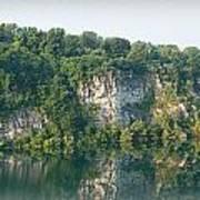 Cedar Hollow Quarry Panorama Art Print