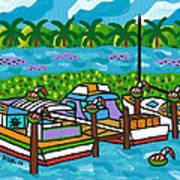Cedar Key Bayou Art Print