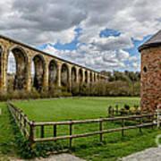 Cefn Viaduct Art Print by Adrian Evans