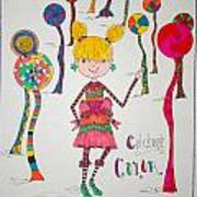 Celebrating Color Art Print by Mary Kay De Jesus