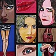 Celebrity Art Print