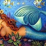 Celeste The Goddess Of The Sea Art Print