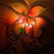 Celestial Callas Art Print