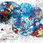 Celestial Chaos Art Print