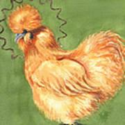 Celestial Chicken Sweet Potato Art Print