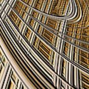 Celestial Harp Print by John Edwards