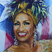 Celia Cruz Art Print