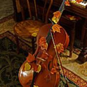 Cello Autumn 1 Art Print