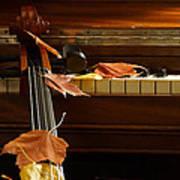 Cello Autumn 2 Art Print