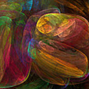 Cellular Abstract.1. Art Print