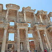 Celsus Library In Ephesus Art Print