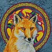 Celtic Fox Art Print