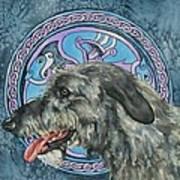 Celtic Hound Art Print