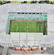 Celtic Park Stadia Art - Celtic Fc Art Print