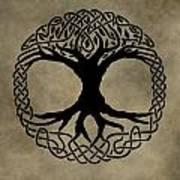 Celtic Tree Of Life Art Print