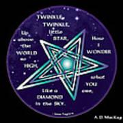 Celtic Twinkle Twinkle Art Print