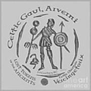 Celtic Vercingetorix Coin Art Print
