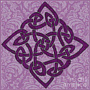 Celtic Wedding Knott Art Print