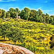 Cemetary Ridge Gettysburg Battleground Art Print