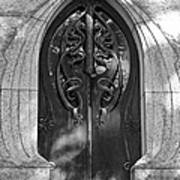 Cemetery Door 1 Art Print
