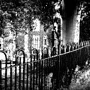 Cemetery Fence Art Print