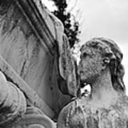Cemetery Gentlewoman Art Print