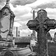 Cemetery Graves Art Print