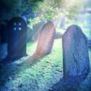 Cemetery Light Art Print
