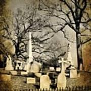 Cemetery Shades Art Print