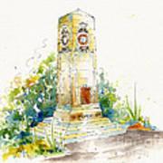 Cenotaph Clock Tower Art Print by Pat Katz