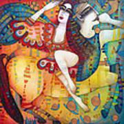Centaur In Love Art Print