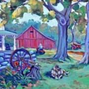 Centennial Morning Art Print