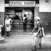 Central Bakery St. Lucia Art Print