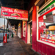 Central Grocery And Deli In New Orleans Art Print