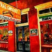 Central Grocery Art Print