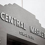 Central Market Art Print
