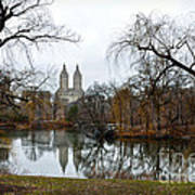 Central Park And San Remo Building In The Background Art Print