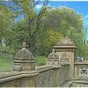 Central Park Bathsheba Terrace 2 Art Print
