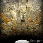 Central Park Bridge Art Print by Maria Scarfone