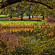 Central Park In Autumn - Nyc Art Print