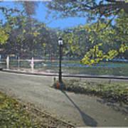 Central Park In September 2 Art Print