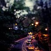 Central Park Nights Art Print