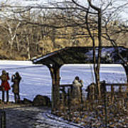 Central Park Photo Op 2 - Nyc Art Print by Madeline Ellis