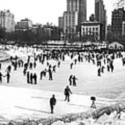 Central Park Winter Carnival Art Print
