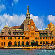 Central Railroad Of New Jersey Terminal Art Print