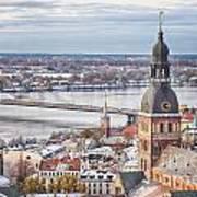 Central Riga Art Print
