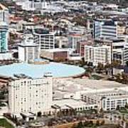 Century II Convention Hall And Downtown Wichita Art Print